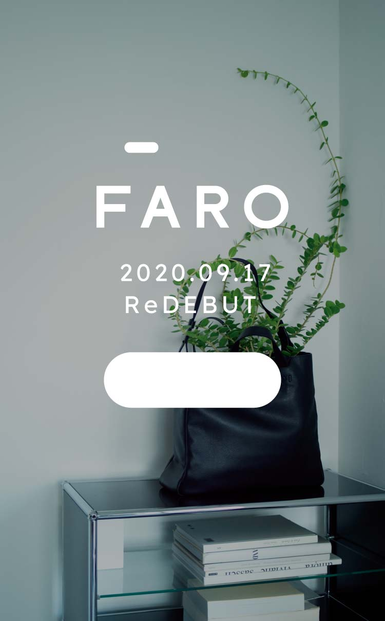 FARO(ファーロ) 2020.09.17 ReDEBUT